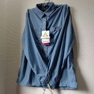 マーモット(MARMOT)の❮新品タグ付き❯マーモット シャツ Marmot ブラウス 山ガール UL(登山用品)