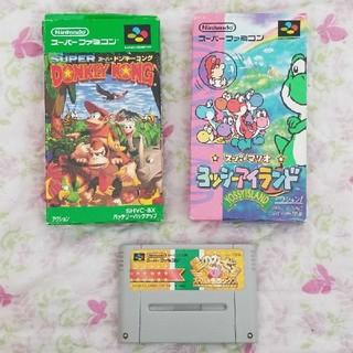スーパーファミコン(スーパーファミコン)のスーパーファミコンソフト3本セット(家庭用ゲームソフト)