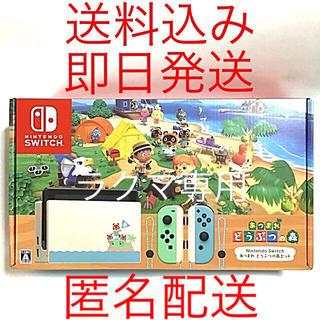 ニンテンドースイッチ(Nintendo Switch)のあつまれ どうぶつの森セット NintendoSwitch ニンテンドースイッチ(家庭用ゲーム機本体)