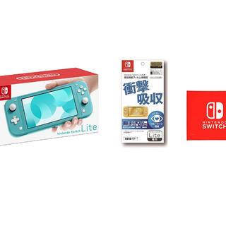 ニンテンドースイッチ(Nintendo Switch)のNintendo Switch Lite スイッチライト ターコイズ(携帯用ゲーム機本体)