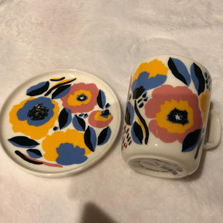 マリメッコ(marimekko)のマリメッコ マグカップ プレート セット(食器)