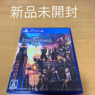 プレイステーション4(PlayStation4)のキングダム ハーツIII PS4 新品未開封(家庭用ゲームソフト)