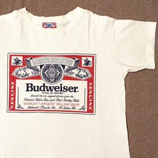 シュプリーム(Supreme)の80's Budweiser バドワイザー Tシャツ ヴィンテージ(Tシャツ/カットソー(半袖/袖なし))