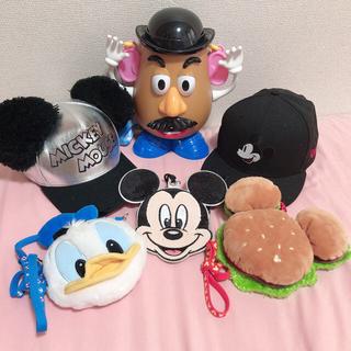 ディズニー(Disney)の【Disney】グッズ5点セット(キャラクターグッズ)