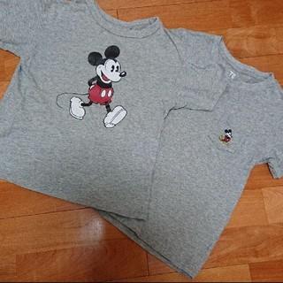 UNIQLO - ユニクロミッキーTシャツ 二枚セット