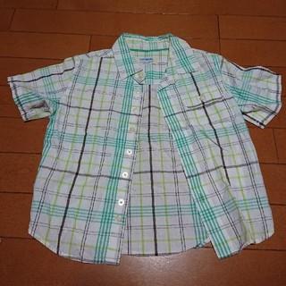 ニシマツヤ(西松屋)のチェロキー チェックシャツ110(ブラウス)