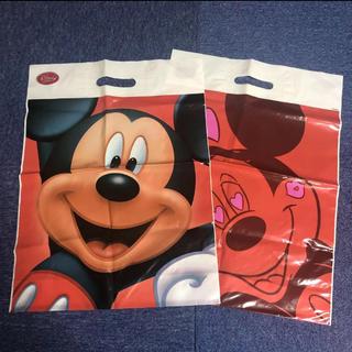 ディズニー(Disney)のディズニーストア ショップ袋 2枚セット 中サイズ(ショップ袋)