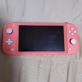 Nintendo Switch - Nintendo Switch Lite コーラル 本体のみ