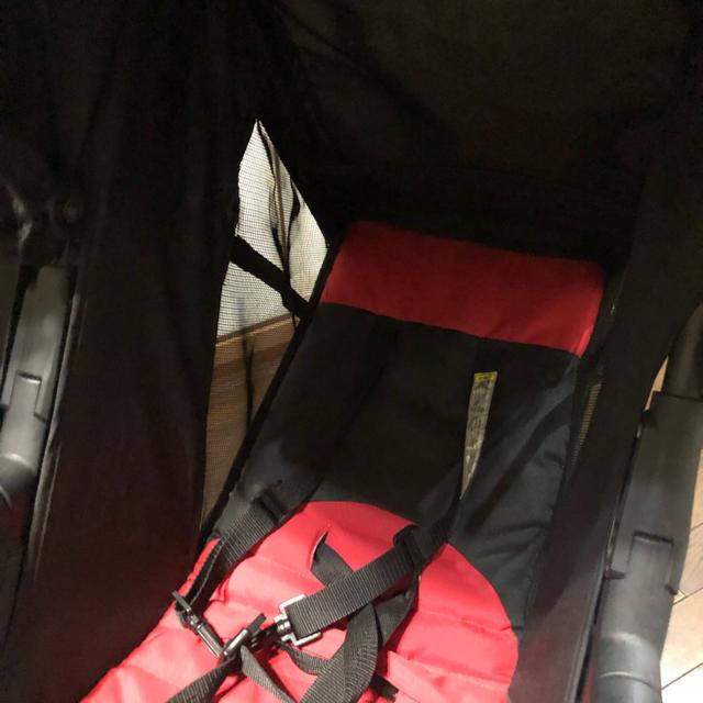 2人乗りベビーカー 軽量 キッズ/ベビー/マタニティの外出/移動用品(ベビーカー/バギー)の商品写真