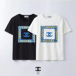 CHANEL - [2枚8000円送料込み] 黒 白chanel Tシャツ 半袖