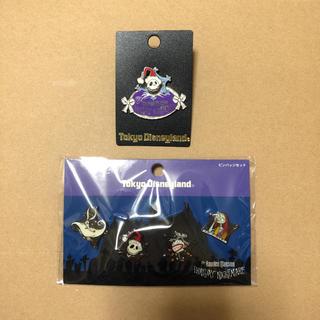 ディズニー(Disney)のディズニー ナイトメアビフォアクリスマス  ピンバッジ(バッジ/ピンバッジ)