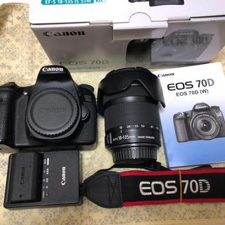 キヤノン(Canon)のCanon キヤノン EOS 70D 一眼レフカメラ EF-S 18-135mm(デジタル一眼)
