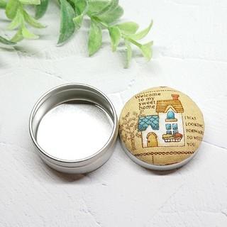 (328)カントリー マカロン缶(雑貨)