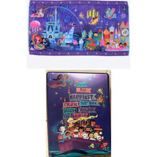 ディズニー(Disney)のイッツ・ア・スモールワールド タオル、お菓子缶(タオル)