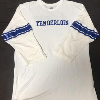 TENDERLOIN - TENDERLOIN テンダーロイン フットボールシャツ 七分丈 Tシャツ