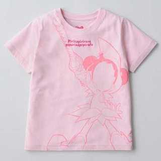 シマムラ(しまむら)のおジャ魔女どれみ しまコレ 限定 春風どれみ Tシャツ Mサイズ ピンク(Tシャツ(半袖/袖なし))
