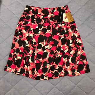 ディーエイチシー(DHC)のDHCジャージーフレアースカート(ひざ丈スカート)