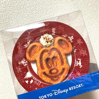 ディズニー(Disney)のディズニーリゾート!【メラミンプレート4枚セット】(食器)