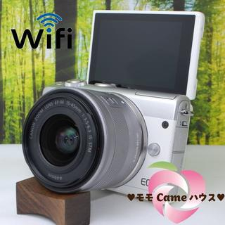キヤノン(Canon)のキヤノンEOS M100☆スマホ転送OK☆ミラーレス一眼☆851(ミラーレス一眼)