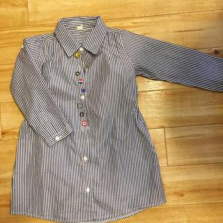 ロングシャツ110cm(ブラウス)