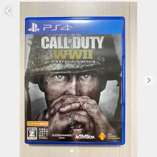 プレイステーション4(PlayStation4)のコールオブデューティ ワールドウォー Ⅱ(家庭用ゲームソフト)