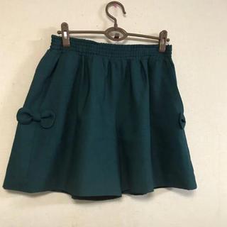 クチュールブローチ(Couture Brooch)の美品☆クチュールブローチ☆リボン付きキュロット(キュロット)