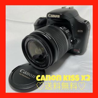 キヤノン(Canon)のcanon kiss x2★送料無料★(デジタル一眼)