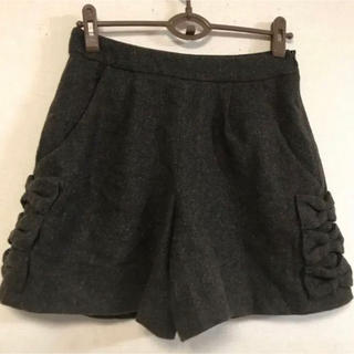 クチュールブローチ(Couture Brooch)の美品☆クチュールブローチ☆裾リボンデザインショートパンツ(ショートパンツ)