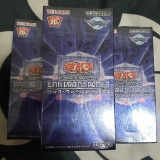 ユウギオウ(遊戯王)の遊戯王 新品未開封 アジア版 リンクヴレインズパック3 3BOX(Box/デッキ/パック)
