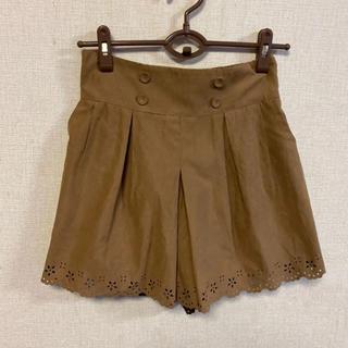 クチュールブローチ(Couture Brooch)の新品☆クチュールブローチ☆裾デザインキュロット(キュロット)