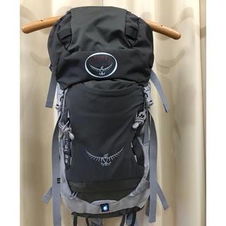 オスプレイ(Osprey)のオスプレイ ケストレル28 美品 グレー(登山用品)