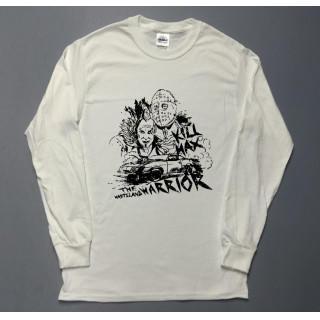 マッドマックス KILL MAX イラスト 長袖 ロングTシャツ utn318(Tシャツ/カットソー(七分/長袖))