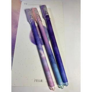 【新品】海外ボールペン 3本 4(ペン/マーカー)