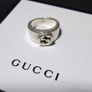 グッチ(Gucci)のGUCCIインターロッキングGリング(リング(指輪))