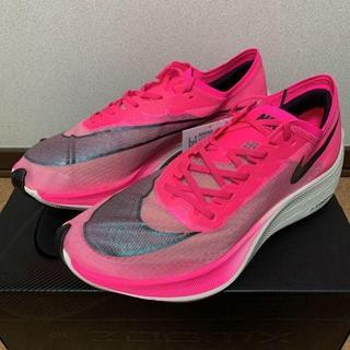 ナイキ(NIKE)の26cm NIKE ZOOMX VAPORFLY NEXT% Pink(スニーカー)