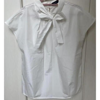 シップス(SHIPS)のシップス ブラウス ホワイト 白 レディース 春 夏(シャツ/ブラウス(半袖/袖なし))