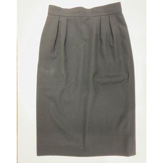 クリスチャンディオール(Christian Dior)の美品!クリスチャンディオール ChristianDior スカート サイズM 黒(ひざ丈スカート)