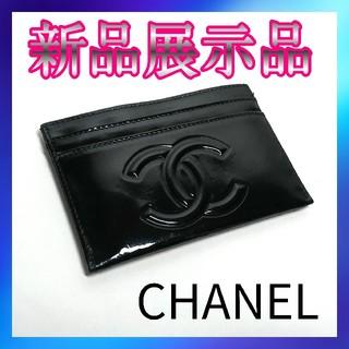 CHANEL - CHANEL シャネル カメリア メイクパレット エナメル カードケース