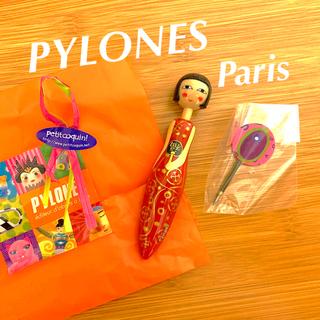 《 PYLONES  》ピローヌ PARIS ボールペン& 替え芯セット(ペン/マーカー)