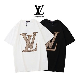 LOUIS VUITTON - [2枚8000円送料込み]LV 黒 白 Tシャツ 半袖