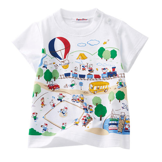 familiar - 新品未使用 ファミリア 70周年特別企画 おはなしTシャツ ファミちゃん