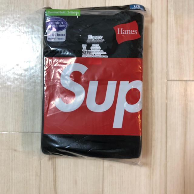 Supreme(シュプリーム)のシュプリーム ヘインズ コラボ T Lサイズ メンズのトップス(Tシャツ/カットソー(半袖/袖なし))の商品写真