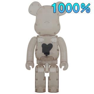 MEDICOM TOY -  当選品 BE@RBRICK Black Heart 1000% メディコムトイ