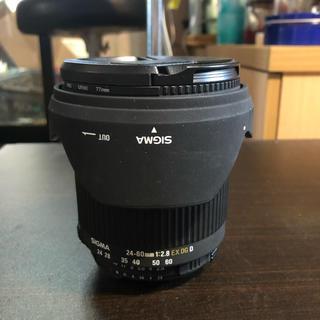 シグマ(SIGMA)の6/7限定値下げ❗️SIGMA24-60mm F2.8 EX DG ニコン用(レンズ(ズーム))