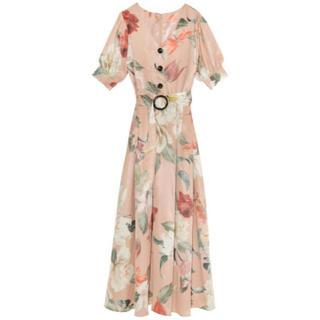 eimy istoire - タグ付 eimy istoire  ロングワンピース 花柄 ドレス