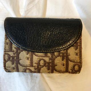 クリスチャンディオール(Christian Dior)のレア トロッター ディオール 二つ折り財布(財布)