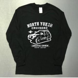 四駆 デザイン 長袖 ロング Tシャツ utn302(Tシャツ/カットソー(七分/長袖))