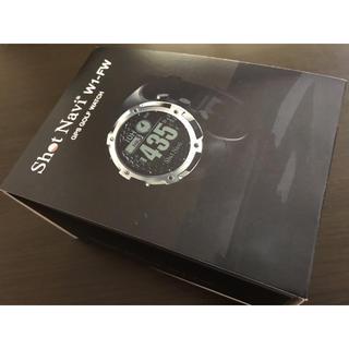 ショットナビ W1-FW GPS腕時計(その他)