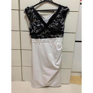 デイジーストア(dazzy store)のキャバ嬢ドレス ホワイト(ミニドレス)