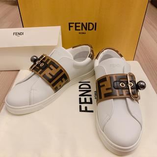 フェンディ(FENDI)の⭐️ 新作 フェンディ ズッカ スニーカー スリッポン レディース(スニーカー)